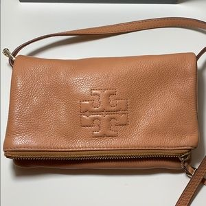 Tory Burch foldover crossbody purse